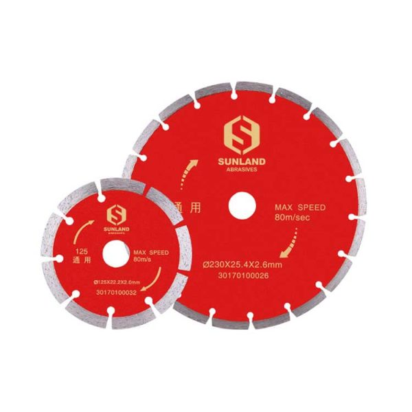 Cold Pressed Segement Diamond Saw Blade