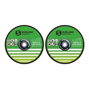 Cutting discs 355x3x25.4mm